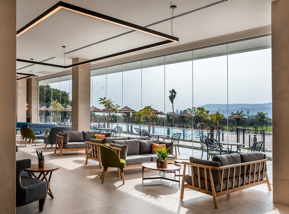 Sea of Galilee Hotel | Lobby view
