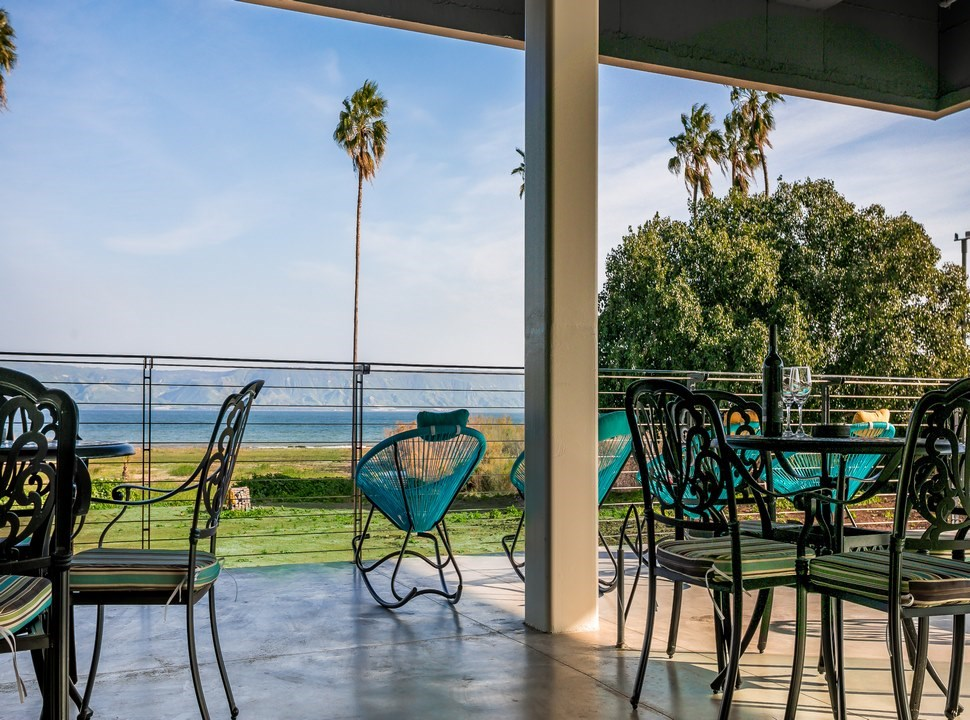 Sea of Galilee Hotel | Chill out balcony