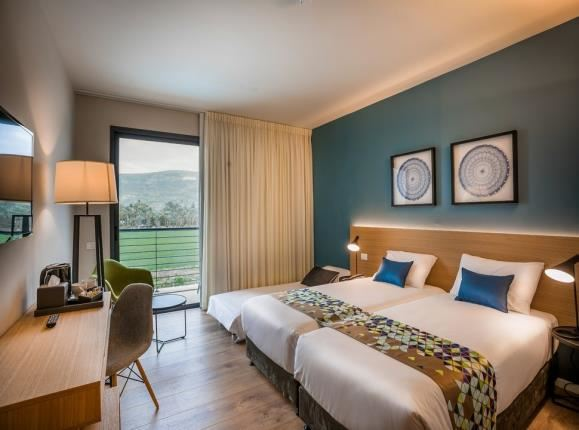 triple room in hotel sea of galilee